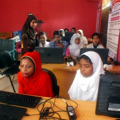 Support Mobile Library & Computer Training in Bangladesh